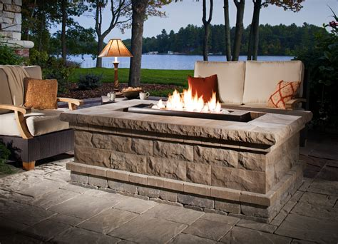 belgard pit warming cool nights add a belgard feature outdoor