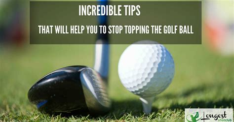 golf swing topping the ball incredible tips that will help you to stop topping the