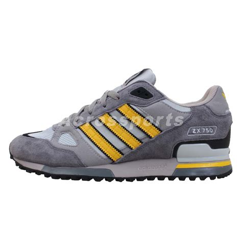 Sale Adidas Ax2 Import Made In Black Greey adidas originals zx 750 grey yellow 2013 mens retro