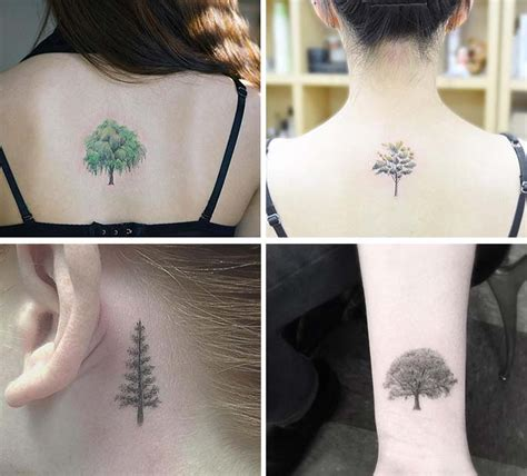 tiny tree tattoo 50 absolutely small tattoos for with their