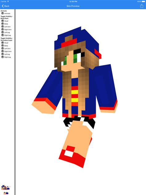 Skin Top 1 best and skin of 2016 new best skins for minecraft pocket edition apps 148apps