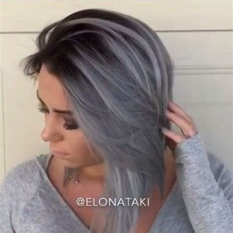 17 Best Ideas About Grey by 17 Best Ideas About Gray Hair On Hair Dye Colors