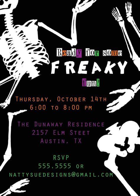halloween party invitation ideas party invitations templates