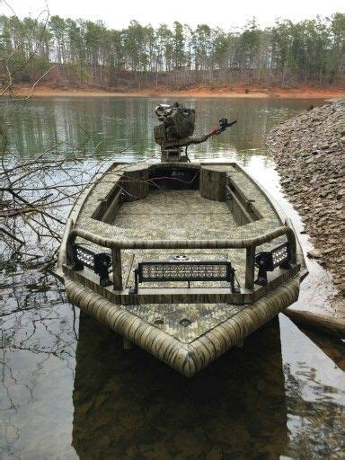 duck hunting boat lights prodigy timber series the ultimate duck boat duck