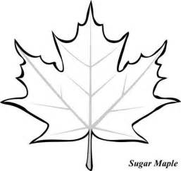 journal page for children maple leaf clipart best
