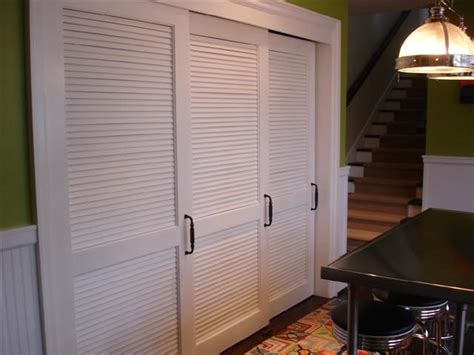 Hallway Closet Doors White Sliding Louvered Doors For Hallway Cupboard Minus Handles Inside Interiors