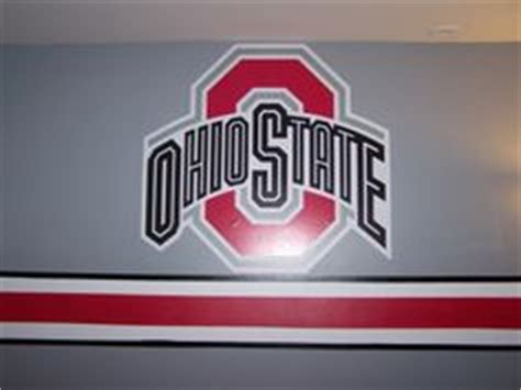 Ohio State Bedroom Paint Ideas by How To Paint The Ohio State Buckeye Helmet Stripe Ohio
