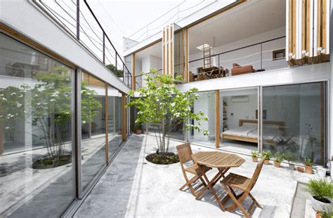 inside out house with inner garden modern house designs takeshi hosaka architects