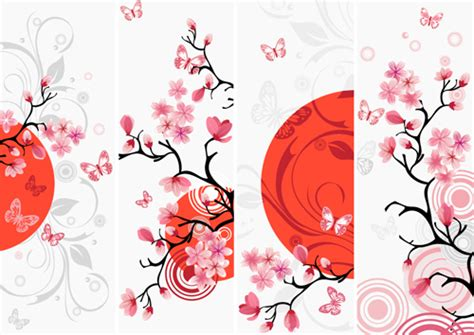 free design japan japan style elements vector graphics 05 vector other
