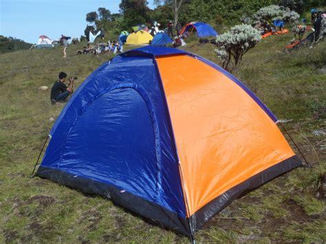 Tenda Dome Single Layer Kap 6 Orang Alas Terpal Pe jual vntg tenda dome hy1061 kap 2 3 orang alas terpal pe vntgstore