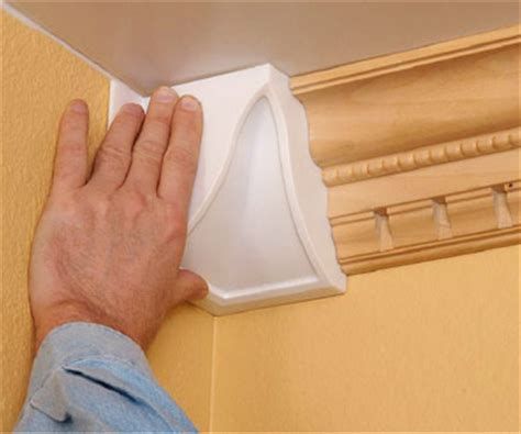 Plastic Crown Molding Installing Plastic Crown Molding How To Cut Install