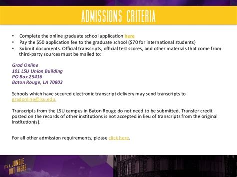 Lsus Mba Send Transcripts by Lsu Flores Mba Mba