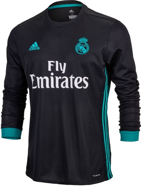 Jersey Real Madrid Away 2017 2023 2017 18 adidas real madrid l s away jersey real madrid