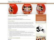 daruma doll lesson zen buddhism lesson plans worksheets reviewed by teachers
