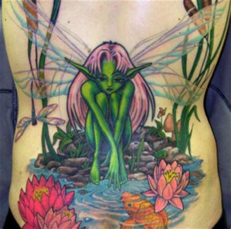 gothic flower tattoo designs fairies images designs