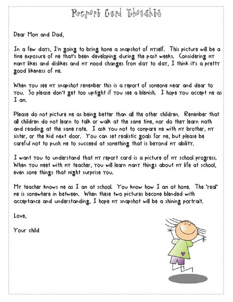 Report Letter To Parents 23 Best Images About Report Cards On Teaching Student Centered Resources And Report