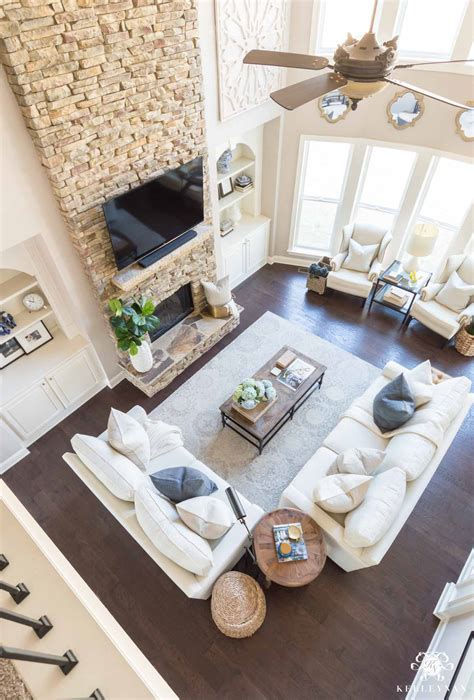ideas  conceal baby items toys   living room
