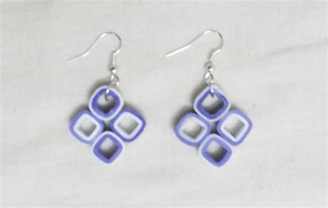 How To Make Paper Jewellery At Home - quilling paper earrings designs earrings