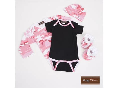 pink camo clothes baby pink camo baby clothes gift set newegg