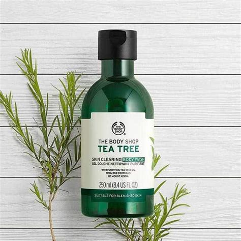 Tea Tree Gel The Shop tea tree skin clearing wash 250ml