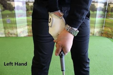 how to swing a golf club left handed a99 golf grip king swing grip trainer left or right hand