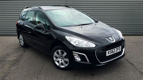 Used Peugeot 308 Sw Estate 1 6 Hdi Sr 5dr 2013 Ks62zfo