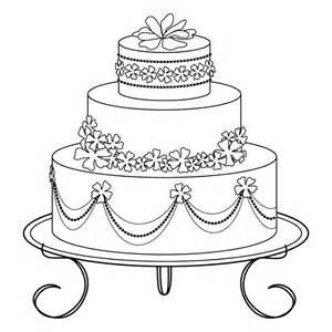 crafts digital art digital stamp wedding cake coloring adults 1