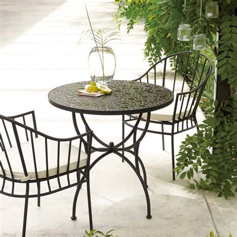 Garden Bistro Chairs Riva Bistro Table And Chairs Summer Garden Buys Our Of The Best Housetohome Co Uk