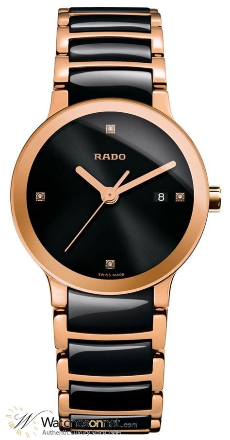 Hdl Quartz Watches Gold Intl rado centrix r30555712 s 18k gold plated quartz