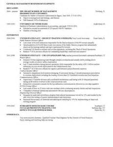 how to craft a stellar resume for business school