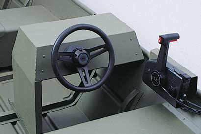 aluminum boat steering console rear side console