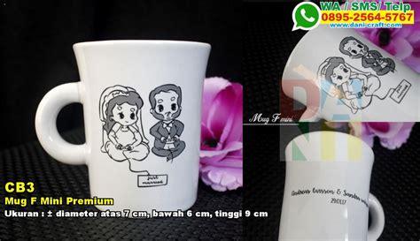 Wadah Souvenir Bambu Diameter 7 Cm mug f mini premium souvenir pernikahan