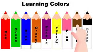 when do children learn colors learning colors with color pencils learning