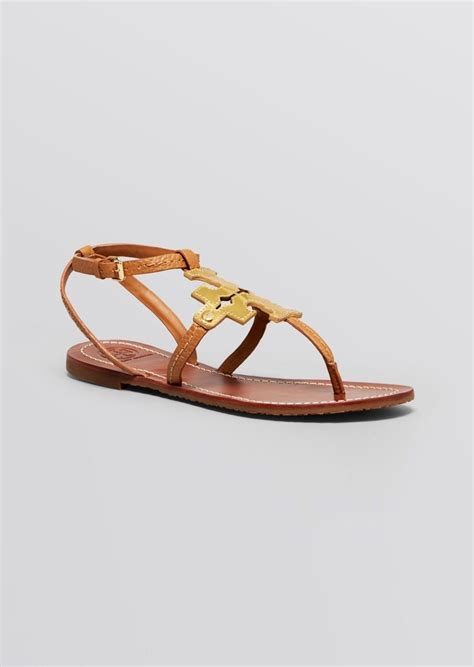 burch flat shoes sale burch burch flat sandals chandler logo