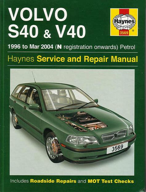 free auto repair manuals 2003 volvo s40 on board diagnostic system volvo s40 v40 shop manual service repair workshop book haynes chilton v 40 wagon ebay