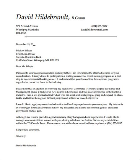 Entry Level Cover Letter Template   12  Free Sample