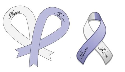 lung cancer ribbon tattoos pictures ribbon cancer tattoos designs