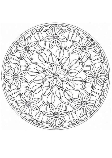 mandala coloring pages advanced level mandalas for experts mandala 67