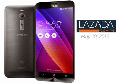 Handphone Asus Zenfone 2 Lazada asus zenfone 2 to be available in the philippines on may 10 via lazada techno guide
