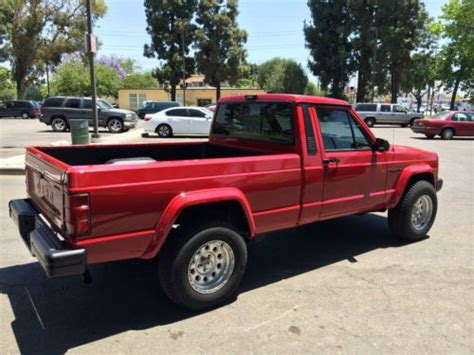 comanche jeep 4 door sell used 1988 jeep comanche base standard cab 2