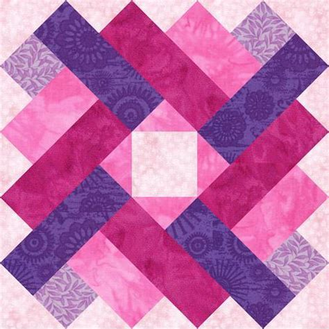 Square Quilt Block by Siena Square Paper Pieced Quilt Block By Piecebynumber