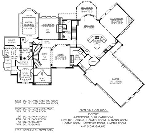 house plans with media room 3 bedroom house plans with media room