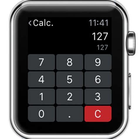 calculator on apple watch calcbot apple watch calculator and unit converter