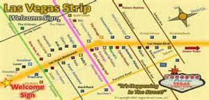 Map Las Vegas Strip by Las Vegas Strip Map To Welcome To Fabulous Las Vegas