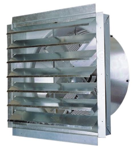 industrial exhaust fan with shutter industrial wall exhaust fan with shutter maxx air if series