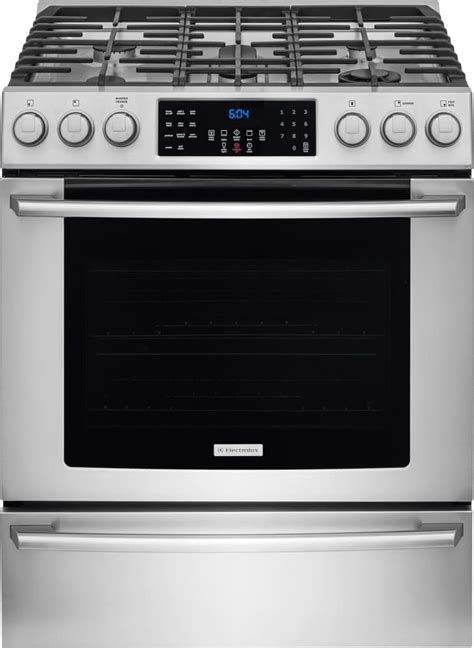 Oven Gas Digital electrolux ei30gf45qs 30 inch freestanding gas range with