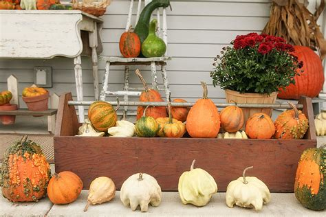 outdoor fall decorations 85 pretty autumn porch d 233 cor ideas digsdigs