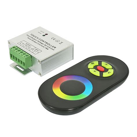 led light controller rgb led light controller wireless remote controller touch panel color ring