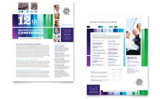 Data Sheet Templates by Business Leadership Conference Datasheet Template Design
