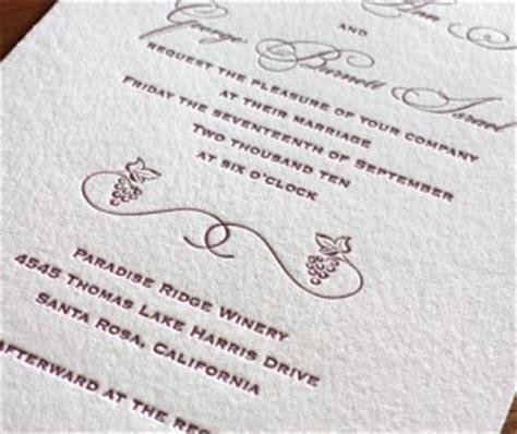 Grape Theme Wedding Invitations by 2011 Destination Wedding Invitation Trends
